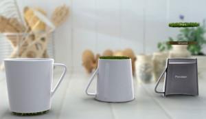 Чашка с травой