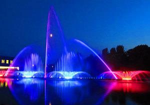 музыкальный фонтан в Виннице