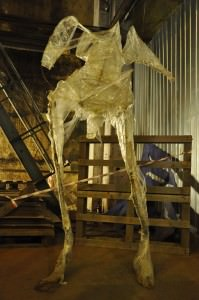 скульптура из полиэтилена