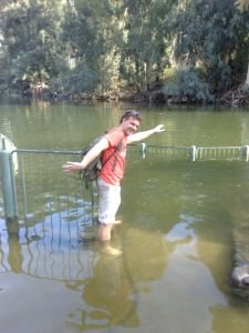 Ярденит – место крещение на реке Иордан