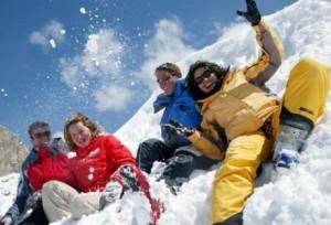 Популярные виды спорта в зимнее время