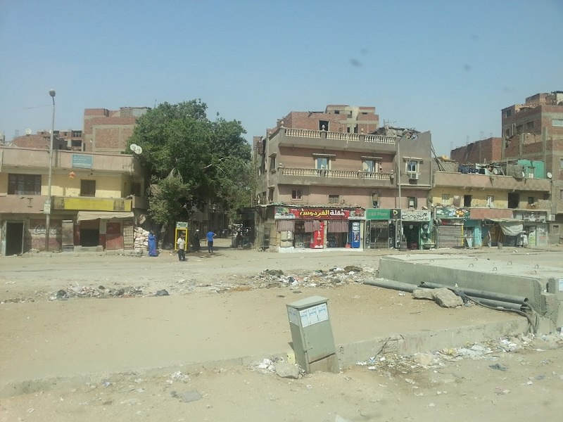 НА фото улица Каира, почти центр