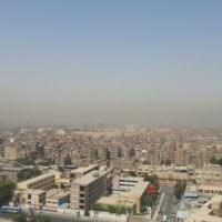 Песчанная буря в Каире